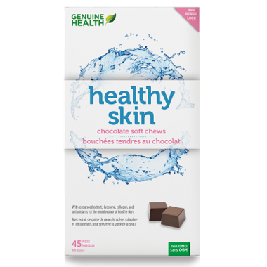 Genuine Health Healthy Skin Chocolate Soft Chews
