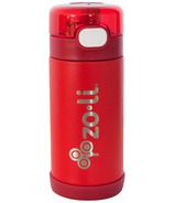Zoli POW Squeak Double Walled Insulated Stainless Steel Red