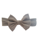 Baby Wisp Big Bow Headband Grey