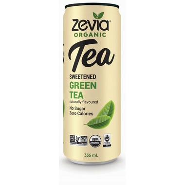 Zevia Organic Sweetened Green Tea