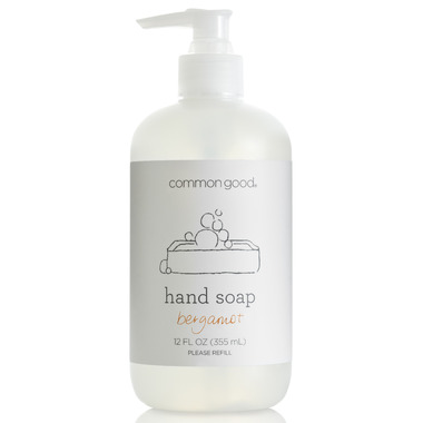 Common Good Hand Soap in Bergamot