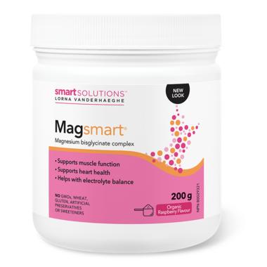 Smart Solutions Lorna Vanderhaeghe MAGsmart Powder Organic Raspberry