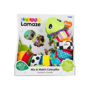 Lamaze Early Learning Mix and Match Caterpillar