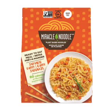 Miracle Noodle Ready to Eat Japanese Curry Noodles