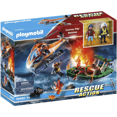 Playmobil Rescue Action Coastal Fire Mission