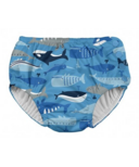 iPlay Snap Reusable Absorbent Swimsuit Diaper Blue Whale League