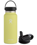 Hydro Flask Wide Mouth With Flex Cap Pineapple + Straw Lid Bundle