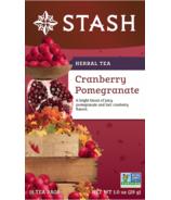 Stash Cranberry Pomegranate Herbal Tea