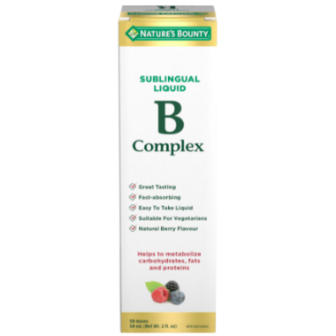 Nature\'s Bounty Liquid B Complex