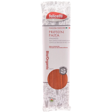 Felicetti Organic Lentil and Wholewheat Spaghetti