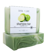 All Things Jill Basil + Lime Shampoo Bar