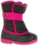 Kamik Snowbug3 Kid's Boots Black & Magenta