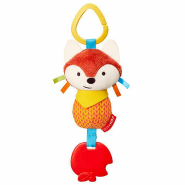 Skip Hop Bandana Buddies Chime & Teether Toy Fox