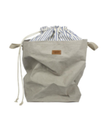 UASHMAMA Positano Laundry Bag Grey