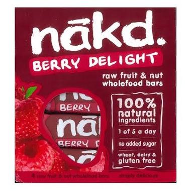 Eat Nakd Berry Delight Raw Bar Family Pack