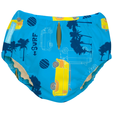Charlie Banana 2-in-1 Swim Diaper & Training Pant Malibu XL