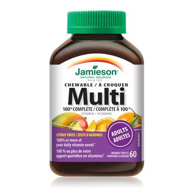 Jamieson Multi 100% Complete Vitamin Chewable