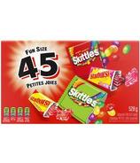 Skittles and Starburst Halloween Fun Size Candy