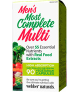 Webber Naturals Men's Most Complete Multi