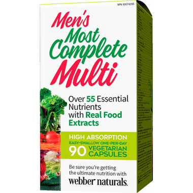 Webber Naturals Men\'s Most Complete Multi