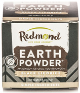 Redmond Earthpowder Black Licorice with Activated Charcoal