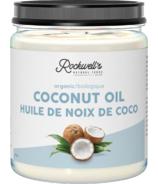 Huile de noix de coco biologique Rockwell's