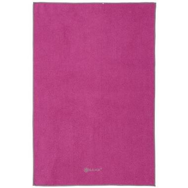 Gaiam Thirsty Yoga Hand Towel Pink/Grey