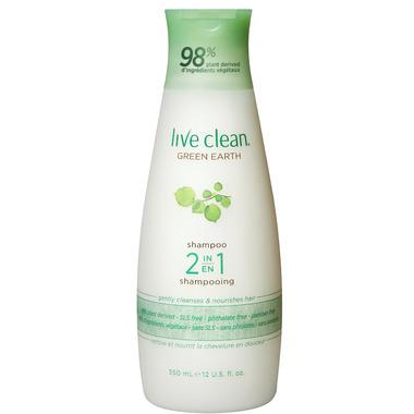 Live Clean Green Earth 2-in-1 Shampoo