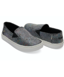 TOMS Luca Tiny Toms Slip-on Black Irridescent