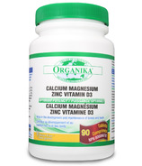 Organika Calcium Magnesium Zinc D3 Multi Vitamin and Mineral