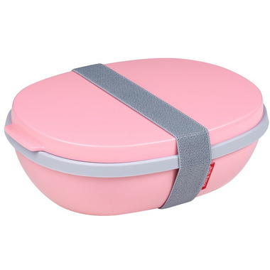 Mepal Ellipse Duo Lunchbox Nordic Pink