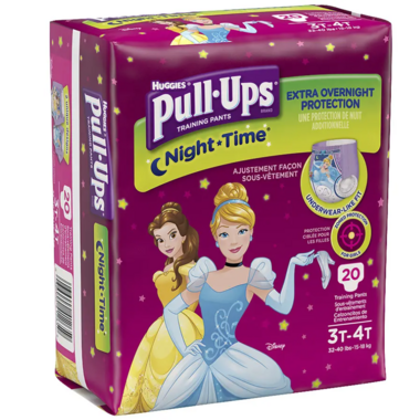 Huggies Pull-Ups Night-Time Potty Training Pants for Girls