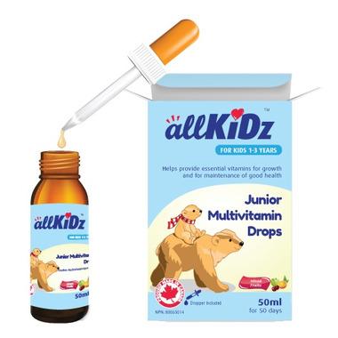 allKiDz Junior Multivitamin Drops