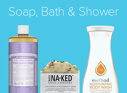 Soap, Bath & Shower