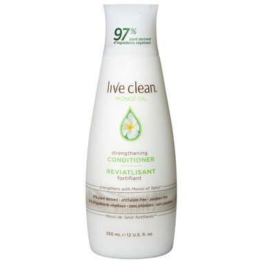 Live Clean Monoi Oil Strengthening Conditioner