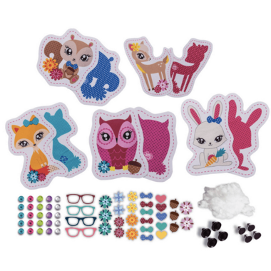 Sew Cool Character Kit Woodland