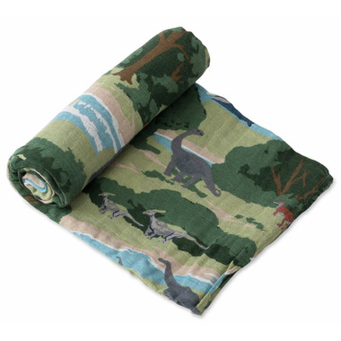 Little Unicorn Cotton Muslin Swaddle Jurassic World