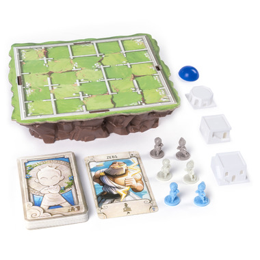 Spin Master Games Strategy-Based Board Game Santorini
