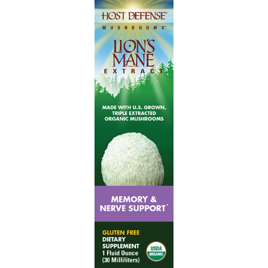 Host Defense Lion\'s Mane (Hericium Erinaceus) Extract