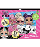 greenre Eco-L.O.L Surprise! Eco Giant Colouring Pad with Stickers