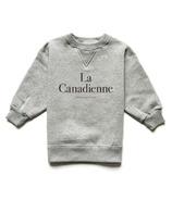 Province of Canada La Canadienne Kids Crewneck Heather Grey