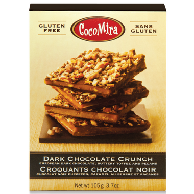 Cocomira Confections Dark Chocolate Crunch