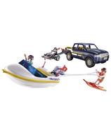Playmobil Family Fun camionnette avec hors-bord