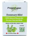 Penny Lane Organics 100% Natural Beauty Bar Rosemary Mint