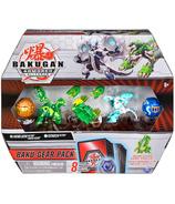 Bakugan Baku-Gear 4 Pack Howlkor Ultra