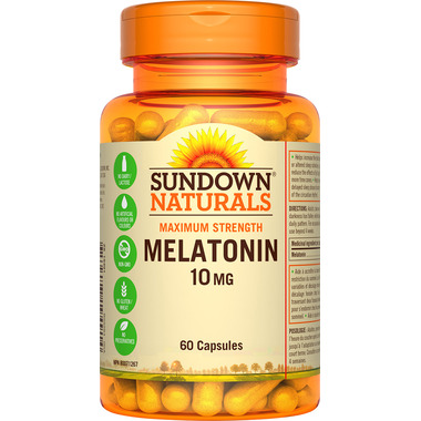 Sundown Naturals Maximum Strength Melatonin