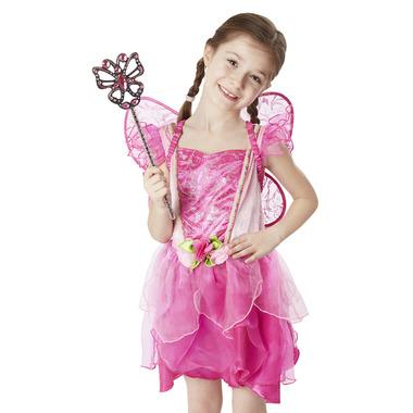 Melissa & Doug Flower Fairy Role Play Costume Set