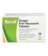 Rexall Ginger Anti-Nausea Tablets