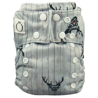 Omaiki One Size All-in-One Diaper Cabin Fever