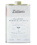 Dillon's Small Batch Distillers Classic Simple Syrup